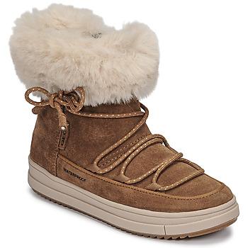 Geox  REBECCA WPF  girls's Children's Mid Boots in Brown
