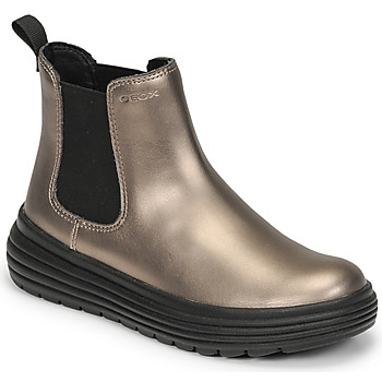 Geox  PHAOLAE  girls's Children's Mid Boots in Gold