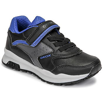 Geox  PAVEL  boys's Children's Shoes (Trainers) in Black