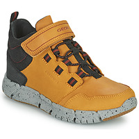 Shoes Boy Mid boots Geox FLEXYPER ABX Brown