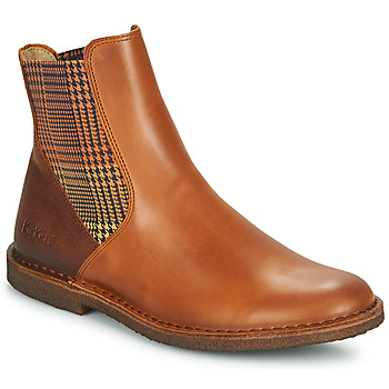 Shoes Women Mid boots Kickers TINTO Camel
