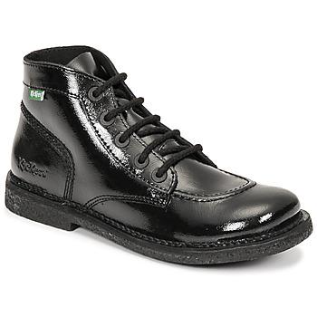 Shoes Women Mid boots Kickers LEGENDIKNEW Black