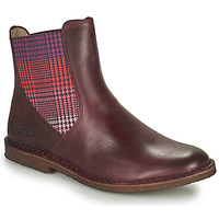 Shoes Women Mid boots Kickers TINTO Bordeaux / Dark