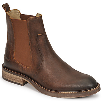 Shoes Women Mid boots Kickers ALPHASEA Camel