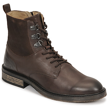 Shoes Women Mid boots Kickers ALPHAHOOK Brown