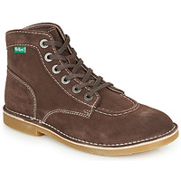 Shoes Women Mid boots Kickers ORILEGEND Brown