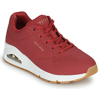 Shoes Women Low top trainers Skechers UNO STAND ON AIR Red