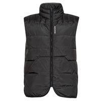 Clothing Men Duffel coats Calvin Klein Jeans PADDED VEST Black