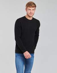 Clothing Men Jumpers Calvin Klein Jeans ESSENTIAL CNK SWEATER 2.0 Black