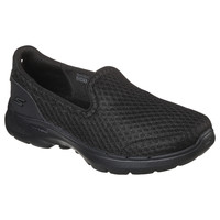 Shoes Women Slip-ons Skechers GO WALK 6 BIG SPLASH Black