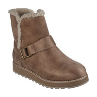 Shoes Women Mid boots Skechers  Brown