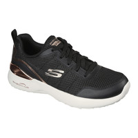 Shoes Women Low top trainers Skechers  Black / Gold