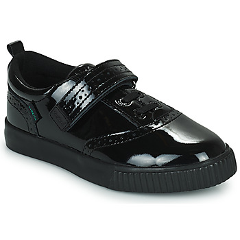 Shoes Girl Low top trainers Kickers  Black