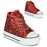 Shoes Girl Hi top trainers Citrouille et Compagnie OPIU Red