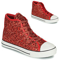 Shoes Girl Hi top trainers Citrouille et Compagnie OUTIL Red