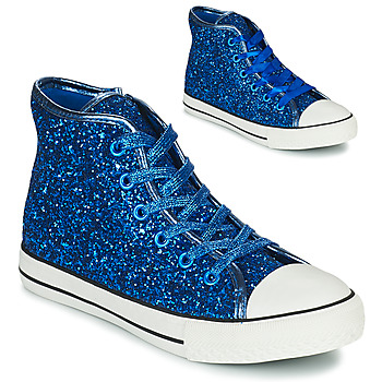 Shoes Girl Hi top trainers Citrouille et Compagnie OUTIL Blue
