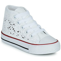 Shoes Girl Hi top trainers Citrouille et Compagnie OVANA White