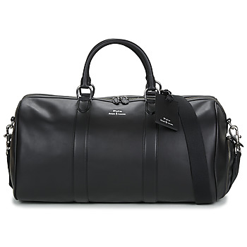 Bags Men Luggage Polo Ralph Lauren DUFFLE DUFFLE SMOOTH LEATHER Black
