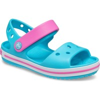 Shoes Children Sandals Crocs 12856-4SL-C4 Crocband Digital Aqua