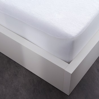 Home Fitted sheet Today PROTÈGE MATELAS IMPERMÉABLE ECO White