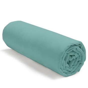Home Fitted sheet Today TODAY JERSEY Green