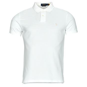 Clothing Men Short-sleeved polo shirts Polo Ralph Lauren PETRINA White