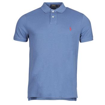 Clothing Men Short-sleeved polo shirts Polo Ralph Lauren PETRINA Blue