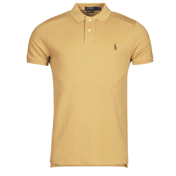Clothing Men Short-sleeved polo shirts Polo Ralph Lauren PETRINA Camel