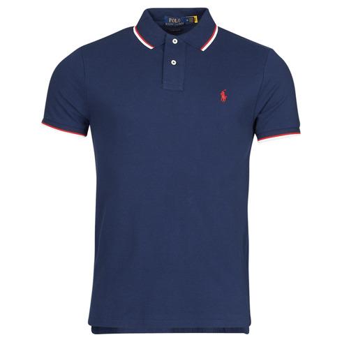 Clothing Men Short-sleeved polo shirts Polo Ralph Lauren CALMIRA Blue