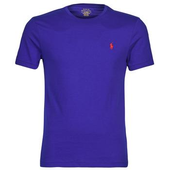 Clothing Men Short-sleeved t-shirts Polo Ralph Lauren SOPELA Blue