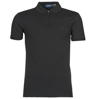 Clothing Men Short-sleeved polo shirts Polo Ralph Lauren BATTYNA Black