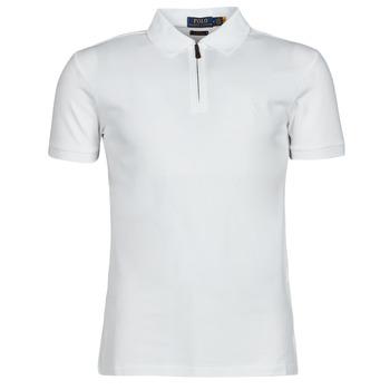 Clothing Men Short-sleeved polo shirts Polo Ralph Lauren BATTYNA White