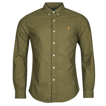 Clothing Men Long-sleeved shirts Polo Ralph Lauren DRISSY Kaki