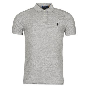 Clothing Men Short-sleeved polo shirts Polo Ralph Lauren DOLINAR Grey