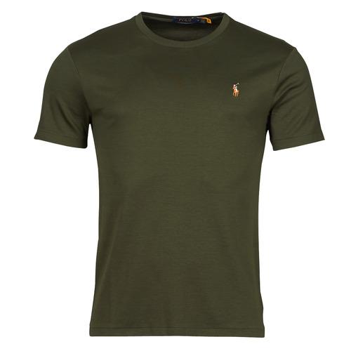 Clothing Men Short-sleeved t-shirts Polo Ralph Lauren TEKAMO Kaki