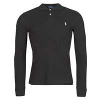 Clothing Men Long-sleeved polo shirts Polo Ralph Lauren MOLINA Black