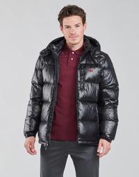 Clothing Men Duffel coats Polo Ralph Lauren HULINU Black