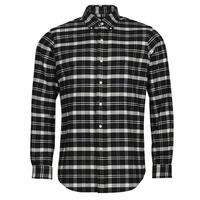 Clothing Men Long-sleeved shirts Polo Ralph Lauren PERINE Black