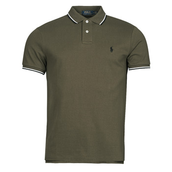 Clothing Men Short-sleeved polo shirts Polo Ralph Lauren HOULIA Kaki