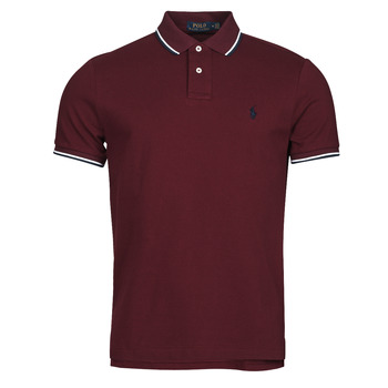 Clothing Men Short-sleeved polo shirts Polo Ralph Lauren HOULIA Bordeaux