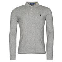 Clothing Men Long-sleeved polo shirts Polo Ralph Lauren TREKINA Grey