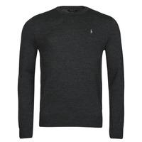 Clothing Men Jumpers Polo Ralph Lauren AMIRAL Grey