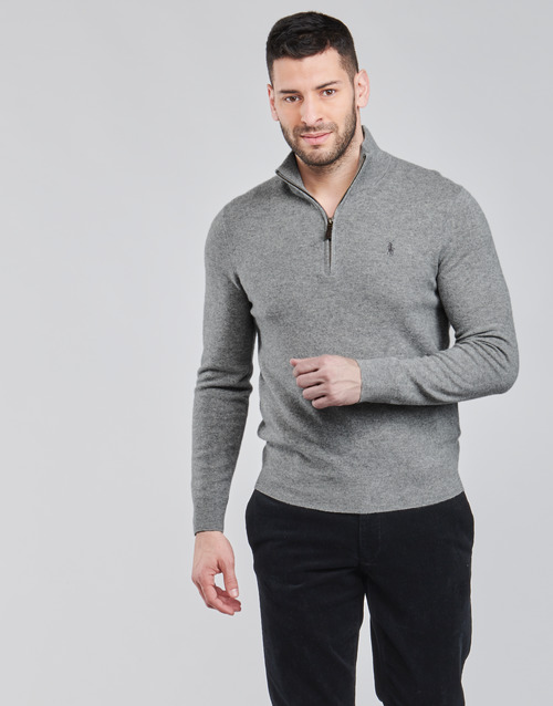 Clothing Men Jumpers Polo Ralph Lauren SOLIMMA Grey