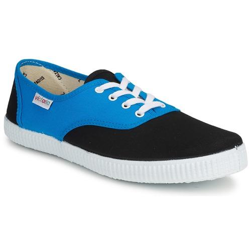 Shoes Low top trainers Victoria 6651 Blue / Black