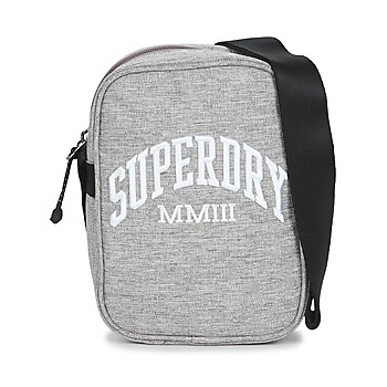 Bags Pouches / Clutches Superdry SIDE BAG Grey