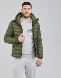 Clothing Men Duffel coats Superdry CLASSIC FUJI PUFFER JACKET Olive