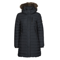 Clothing Women Duffel coats Superdry SUPER FUJI JACKET Blue