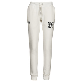 Clothing Women Tracksuit bottoms Superdry PRIDE IN CRAFT JOGGER Ecru