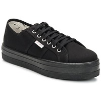Shoes Women Low top trainers Victoria 9201 Black