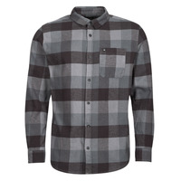 Clothing Men Long-sleeved shirts Quiksilver MOTHERFLY Black